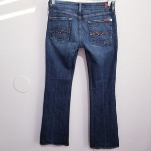 Seven for all mankind Jean's flare